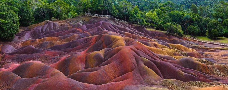 Chamarel Coloured Earth