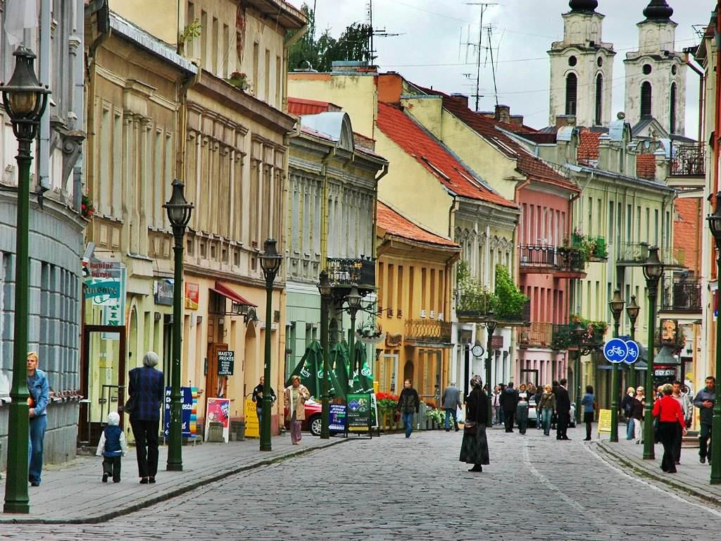 Vilnius roads